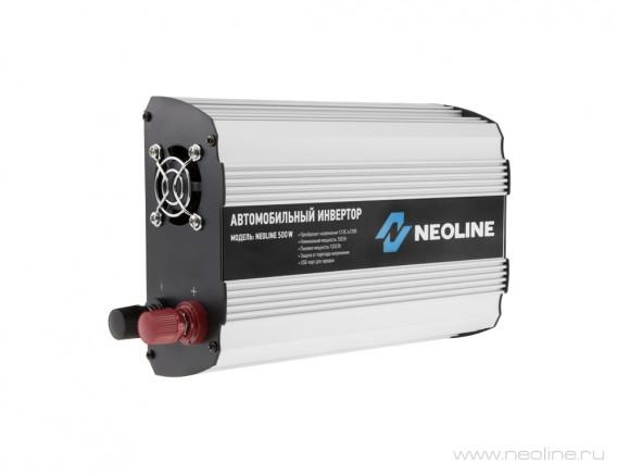 Автоадаптер - инвертор Neoline 500w