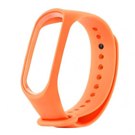 Ремешок для фитнес-браслета Mi3\Mi4 оранж (103175)