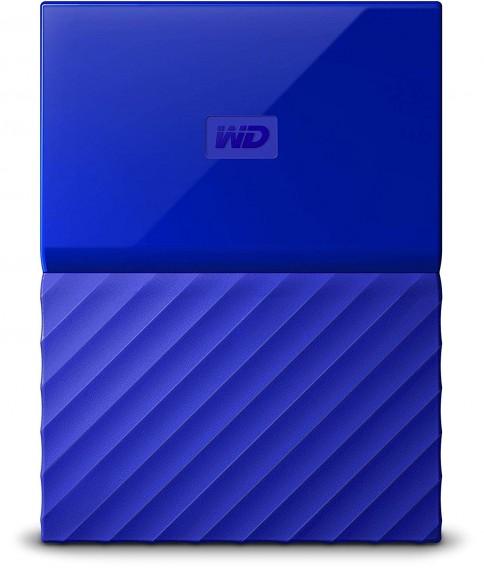Жесткий диск HDD Western Digital 1Тb 2.5'' USB 3.0 My Passport синий