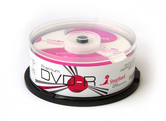 SmartTrack DVD-R 4.7Gb 16x Cake box /25