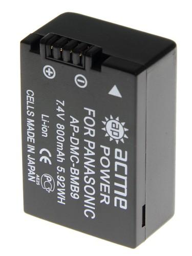 Аккумулятор в/к. Acme Power BMB9 (800mAh 7,4v) Li-ion для Panasonic