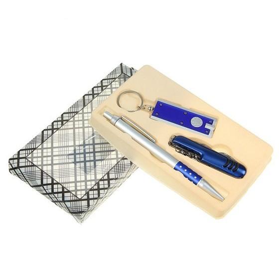 Подарочный набор (ручка+нож+брелок) (1689544)