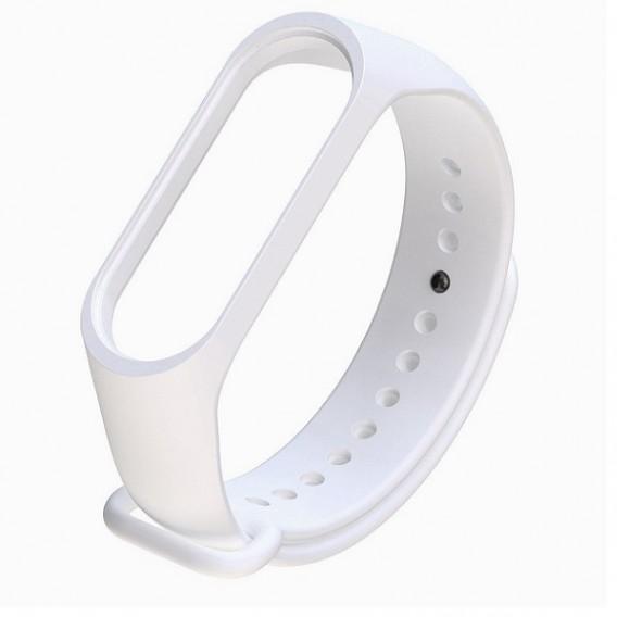 Ремешок для фитнес-браслета Mi3\Mi4 белый (128655)