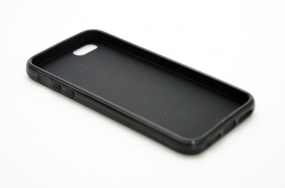 Чехол для iPhone 5 силиконовый черный Mate
