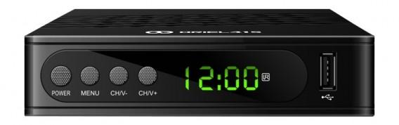 Ресивер цифровой DVB-T2\С Oriel 415D (HDMI, RCA, пластик,дисплей,Dolby Digi)