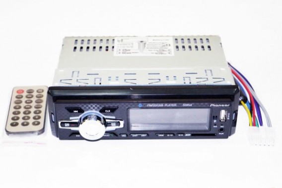 Автомагнитола 1 дин 6082BT (SD, USB, Bluetooth)