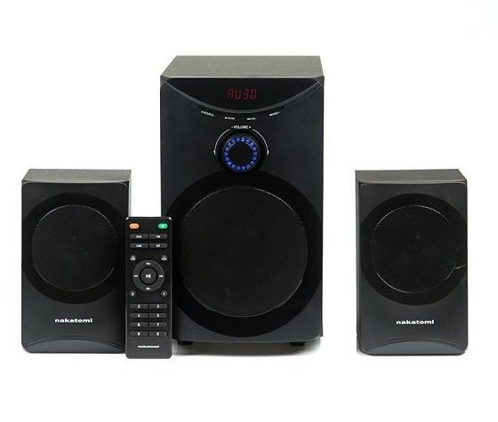 Колонки Nakatomi 2.1 GS-25 (28W, FM/SD/USB/ПДУ)