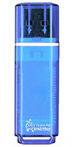 Флэш-диск SmartBuy 64GB USB 2.0 Glossy синий