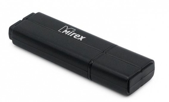 Флэш-диск Mirex 16Gb USB 2.0 LINE черный