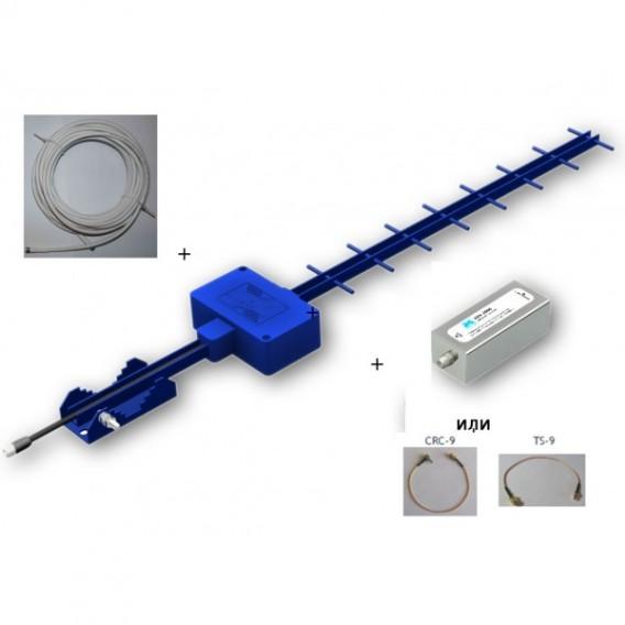 Комплект для 3G USB модема 14Дб Эконом (антенна АХ-2014Y, адаптер)