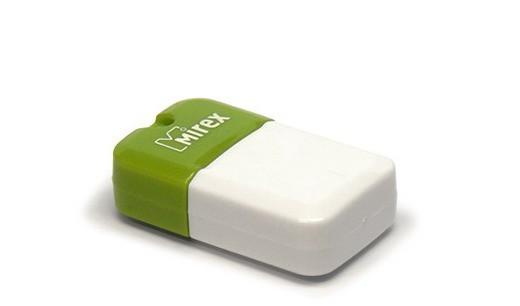 Флэш-диск Mirex 8Gb USB 2.0 ARTON зеленый