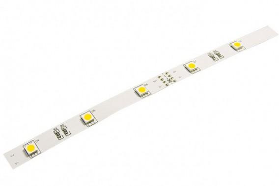 Светодиодная лента Jazzway ECO 5050/30 Желтый IP20 (5м)