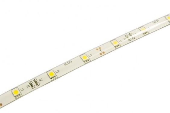 Светодиодная лента Jazzway ECO 5050/30 Желтый IP65 (5м)