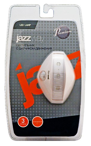 Фонарь Jazzway TS1 -L03 (датчик движения)