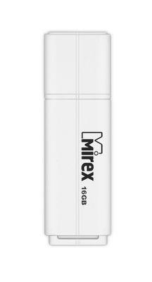 Флэш-диск Mirex 16Gb USB 2.0 LINE белый