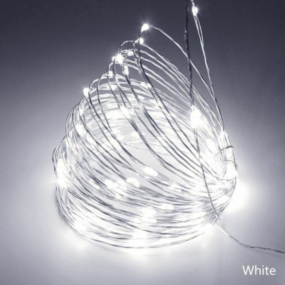 "Гирлянда ""Нить"" 300 светод.белый 30м медн.шнур"