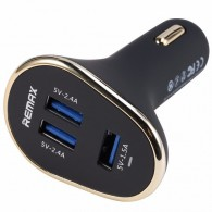 Авто-адаптер Remax CarCharger 3USB (1*1.5A 2*2.4A)