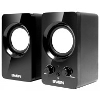 Колонки SVEN 2.0 354 (4Вт) черный USB
