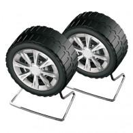 """Колонки Perfeo 2.0 """"Wheels"""" колеса (2*3W) PF-038"""