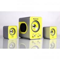 Колонки SmartBuy 2.1 SBA-2610 BUZZ (встроенный MP3 USB+SD) чер-жел