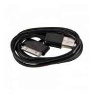 Кабель USB- iPhone4 Belkin черный 1м