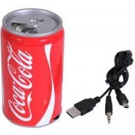 Мини-колонка Банка Cola 0,33 (USB, microSD)