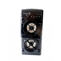 Колонка портативная BJ-909BT (Bluetooth/USB /microSD/FM/дисплей) черная