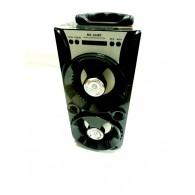 Колонка портативная MS-164BT (Bluetooth/USB /SD/FM/дисплей) черная