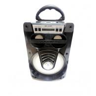 Колонка портативная MS-165BT (Bluetooth/USB /SD/FM/дисплей) черная