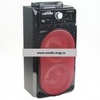 Колонка портативная CN-S2098BT (USB /SD/FM/дисплей/пульт) черная