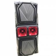 Колонка портативная JBK-8813 (USB /SD/FM/дисплей/пульт) черная