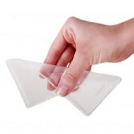 Чехол для iPhone 4 силиконовый прозрачный ультратонкий