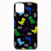 """Чехол для iPhone 11 """"Динозавры"""" (107849)"""