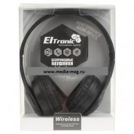 Наушники-плеер Eltronic 4458 (microSD, Bluetooth) черные