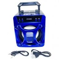 Колонка портативная KTS-850 (USB\microSD\Bluetooth) синяя