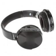 Наушники-плеер N95BT черные (Fm, microSD,Bluetooth)