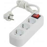 Удлинитель Smartbuy (3 роз., 1,5м, выключ., заземл., 16А)