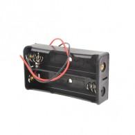 Батарейный отсек Robiton Bh2х18650 с проводами