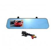 Видеорегистратор L905 (зеркало,2 камеры,120\90°,microSD до 32Gb)