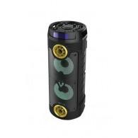 Колонка портативная 2*6.5 (ZSQ-6202) (Bluetooth/USB /FM/ микрофон/пультзолото