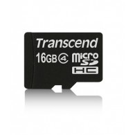 Карта памяти microSDHC Transcend 16GB Class 4 без адаптера