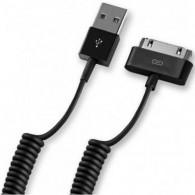 Кабель USB- iPhone4 Lider 1,2м витой черный
