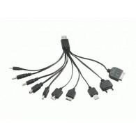 Кабель USB->10 переходников Eltronic (IP5\IP4\miniUSB\microUSB\SamD880\Nok6600)