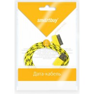 Кабель USB- iPhone4 SmartBuy 1,2м (IK412n) нейлон