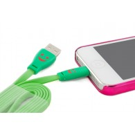 Кабель USB- iPhone5 SmartBuy 1,2м с индикацией