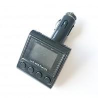 MP3 FM модулятор автомоб. 039 (microSD,USB) + пульт черный