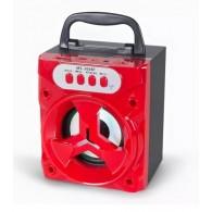Колонка портативная MS-306BT (Bluetooth/USB /SD/FM) красная