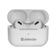 Гарнитура Bluetooth Defender Twins 636 (вакуумные наушники) (63636) бел