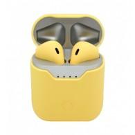 Гарнитура Bluetooth Q9L желтая
