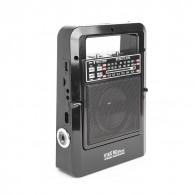 Радиоприемник Сигнал Vikend Picnic (USB/microSD/фонарь, 220V,2*R20, акб 1200)